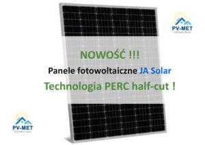 hurtownia fotowoltaiczna kraków pv-met panele fotowoltaiczne Ja Solar