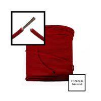 Przewód Solarny H1Z2Z2-K Czerwony 6mm2 hurtownia fotowoltaiczna krakow pv-met fotowoltaika akcesoria