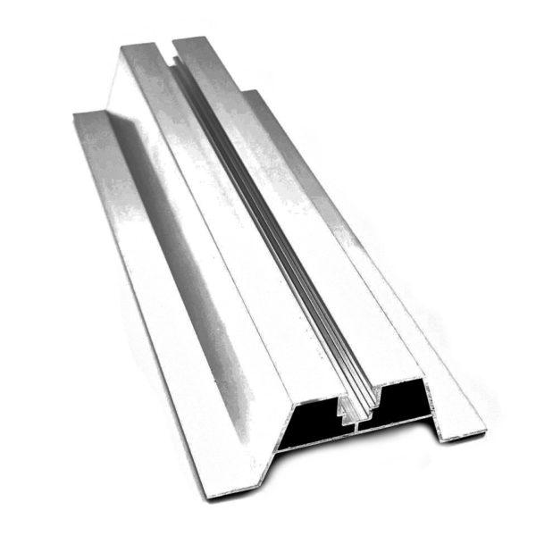 mostek aluminiowy niski krotki 40x300mm hurtownia fotowoltaiczna pv-met krakow fotowoltaika akcesoria