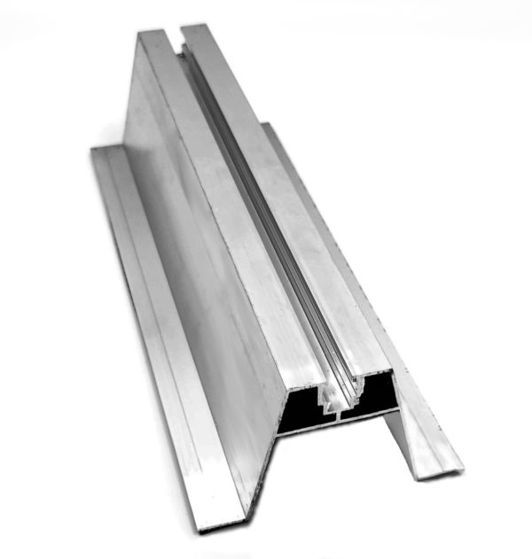 mostek aluminiowy wysoki krótki 70x300mm hurtownia fotowoltaiczna pv-met krakow fotowoltaika akcesoria